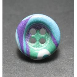 Bouton multicolore 18mm