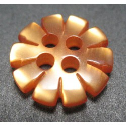 Bouton fleur rouille 13mm
