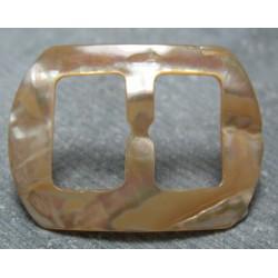 Boucle ceinture nacre ancienne 47mm