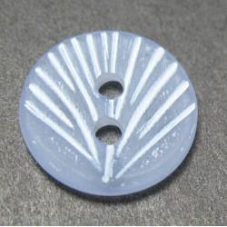 Bouton coquillage lavande 13mm