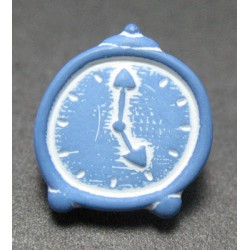 Bouton reveil bleu 12mm