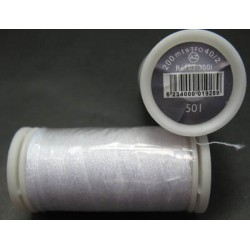 Bobine blanche polyester 200 m