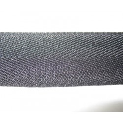 Chevron noir 30 mm