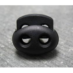 Bloqueur noir double 16 mm