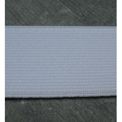 Elastique blanc 40 mm