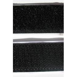 Velcro scratch autocollant noir