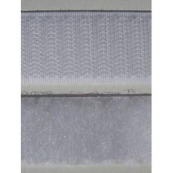 Velcro blanc à coudre 25 mm