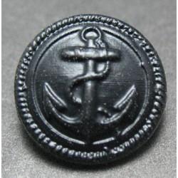 Bouton ancre noire 15mm