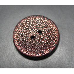Bouton pixel brun 25mm