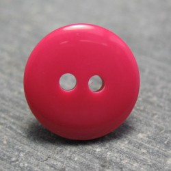Bouton fuschia 14mm