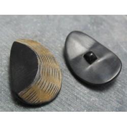 Bouton corne dune 38mm