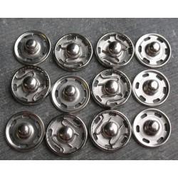 Bouton pression 15mm à coudre (vendu par 6)