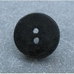 Bouton céramique noir 24mm