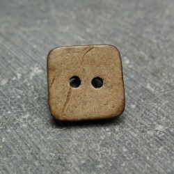 Bouton coco carré 12mm