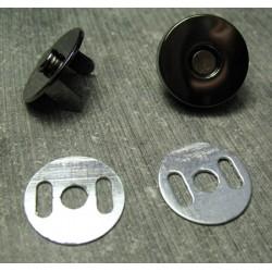 Aimant black nickel 18 mm