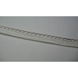 Passepoil fantaise blanc 9 mm