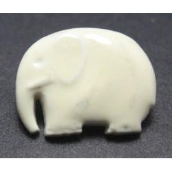 Bouton elephant crème 16mm