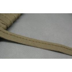 Passepoil coton kaki 10mm