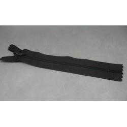 Fermeture éclair nylon noir 15cm