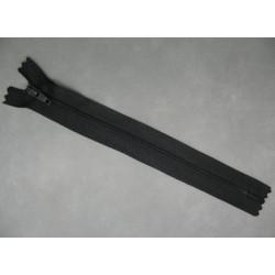 Fermeture éclair nylon noir 18cm