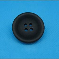 Bouton 4t noir mat 25mm