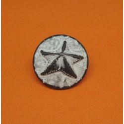 Bouton étoile de mer 20mm
