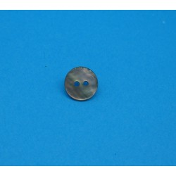 Bouton nacre agoya bruyère 9mm