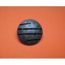 Bouton griffe vieil argent 28mm
