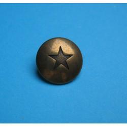 Bouton étoile vieil or 18mm