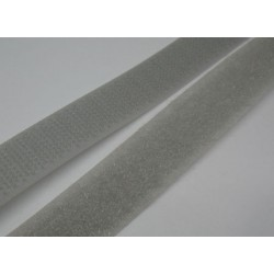 Velcro gris 16mm