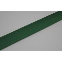 Biais préplié coton  10mm fini vert