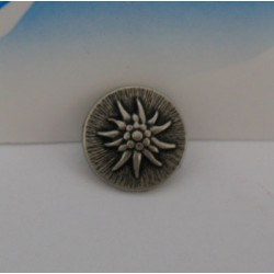 Bouton edelweiss 13mm