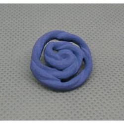 Bouton rose violette 22mm