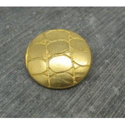Bouton lézard or 23mm