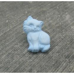Bouton chat debout ciel 18mm
