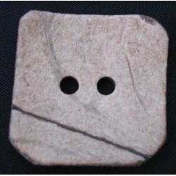 Bouton coco carré 40mm