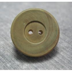 Bouton buis vert 22mm