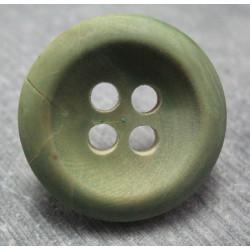 Bouton buis vert 4 T  30mm