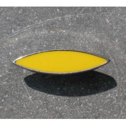 Bouton métal argent jaune 30mm