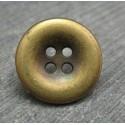 Bouton bretelle vieil or 18 mm b71