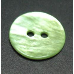 Nacre vert anis 15 mm