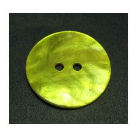 Nacre jaune 15 mm