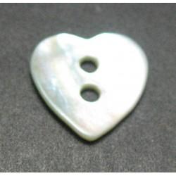 Nacre coeur 12mm