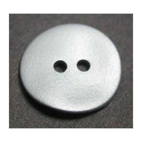 Nacre agoya grise satinée 15 mm b51