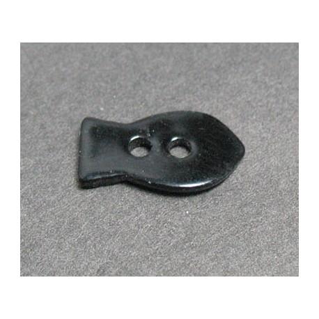 Nacre poisson noir 15 mm b20c