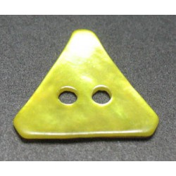 Nacre triangle jaune 15 mm b29