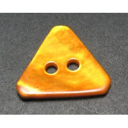 Nacre triangle orange 15 mm b29