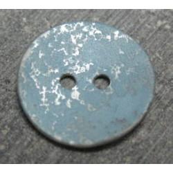 Nacre tachetée explosion peinture bleue 18 mm b45