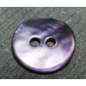 Bouton nacre violette 13 mm b31