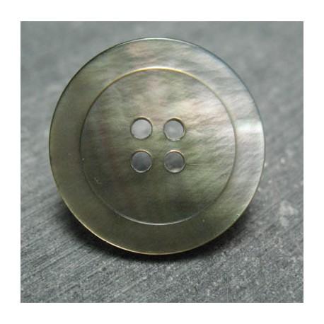 Bouton Nacre tahiti 4T 28 mm b66